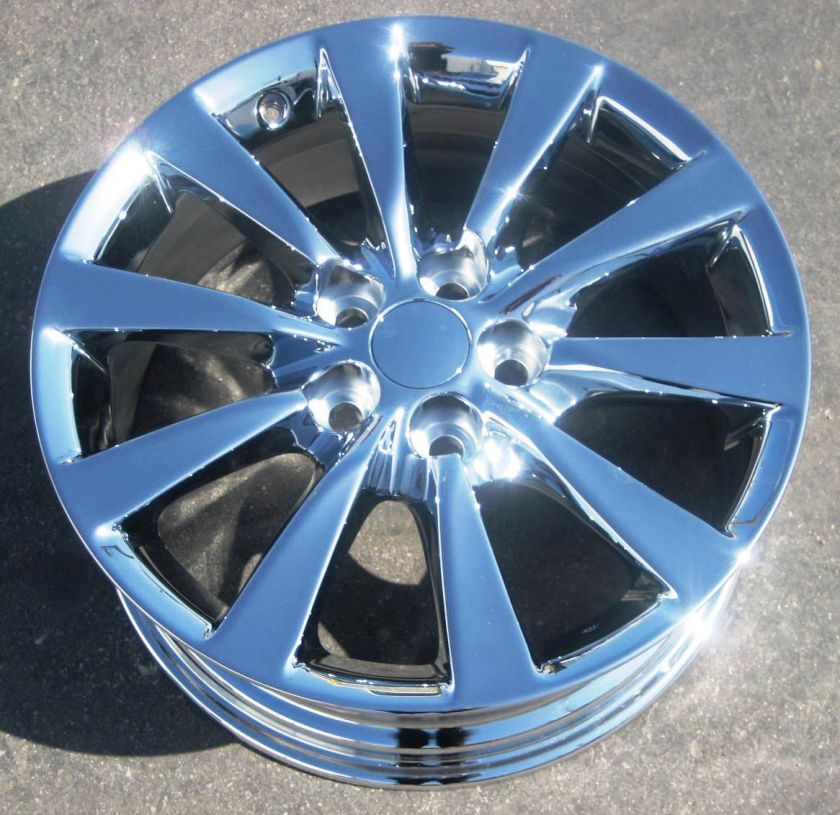 NEW 18 FACTORY LEXUS LS460 LS460LH OEM CHROME WHEELS RIMS 2010 12