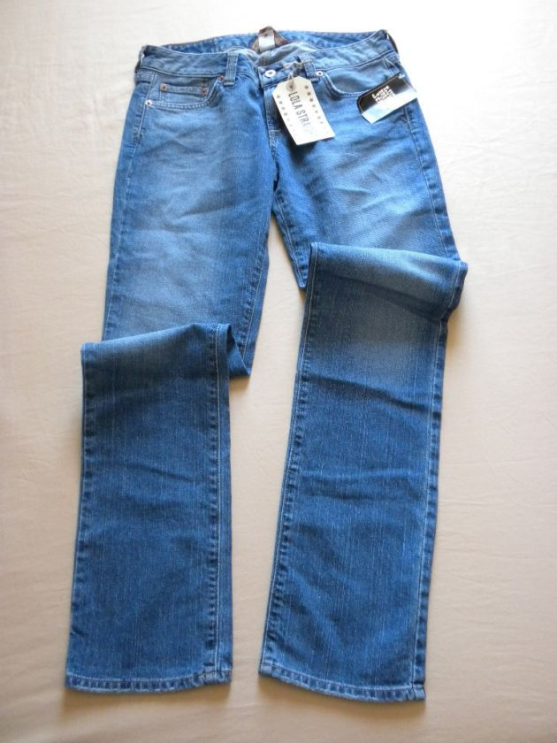 NEW LUCKY BRAND LOLA STRAIGHT WOMENS JEANS SIZE 6/28